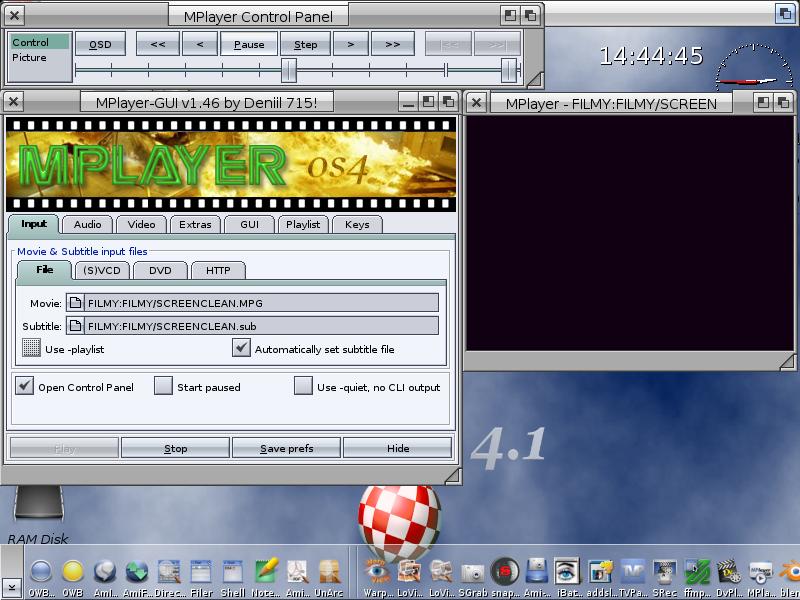 MPlayer GUI